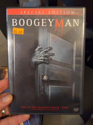 Boogeyman Special Edition Horror DVD - Barry Watson - Emily Deschanel - Lucy Lawless