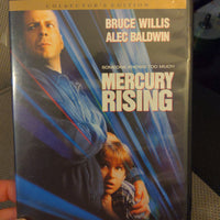 Mercury Rising Widescreen Collector's Edition DVD - Bruce Willis - Alec Baldwin