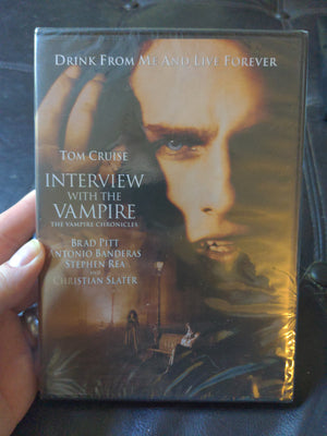 Interview With The Vampire NEW SEALED DVD - Brad Pitt - Tom Cruise - Antonio Banderas