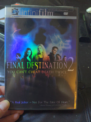Final Destination 2 Infinifilm Version DVD - Horror - w/Insert Booklet