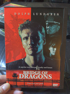 Bridge Of Dragons Snapcase DVD - Dolph Lundrgen