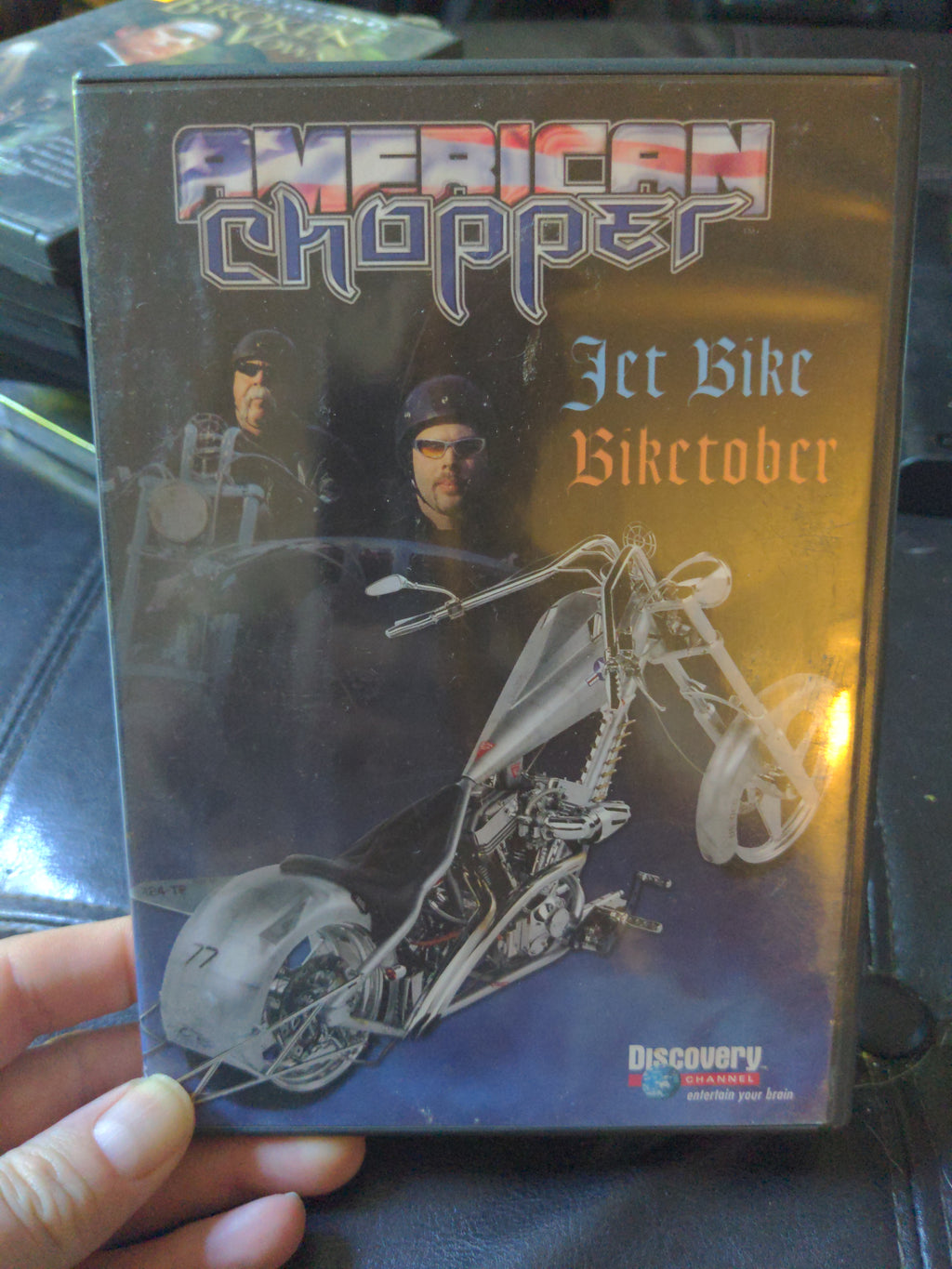 American Chopper Discovery Channel DVD - Jet Bike & Biketober Episodes