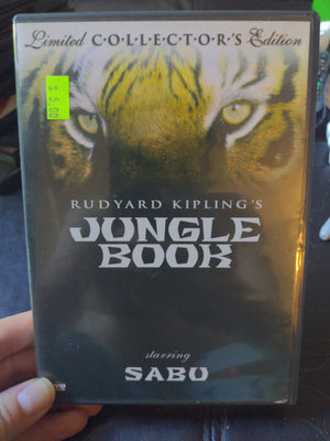 Rudyard Kipling's Jungle Book Limited Collector's Edition DVD Starring Sabu