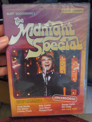 Burt Sugarman's The Midnight Special Classic Comedy SEALED DVD UNCENSORED RARE OOP