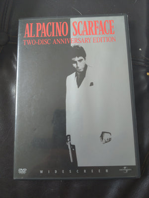 Scarface Two Disc Widescreen Anniversary Edition DVD - Al Pacino