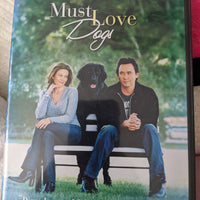 Must Love Dogs Widescreen Edition DVD - Diane Lane - John Cusack
