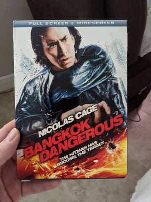 Bangkok Dangerous Full Screen & Widescreen DVD with Slipcover - Nicolas Cage