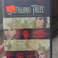 Southland Tales DVD - Dwayne Johnson Seann William Scott Sarah Michelle Gellar