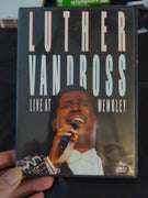 Luther Vandross Live At Wembley Music Concert DVD - Epic Records