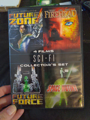 Sci-Fi 4 Films Collector's Set DVD - Firehead Future Force Future Zone Space Mutiny