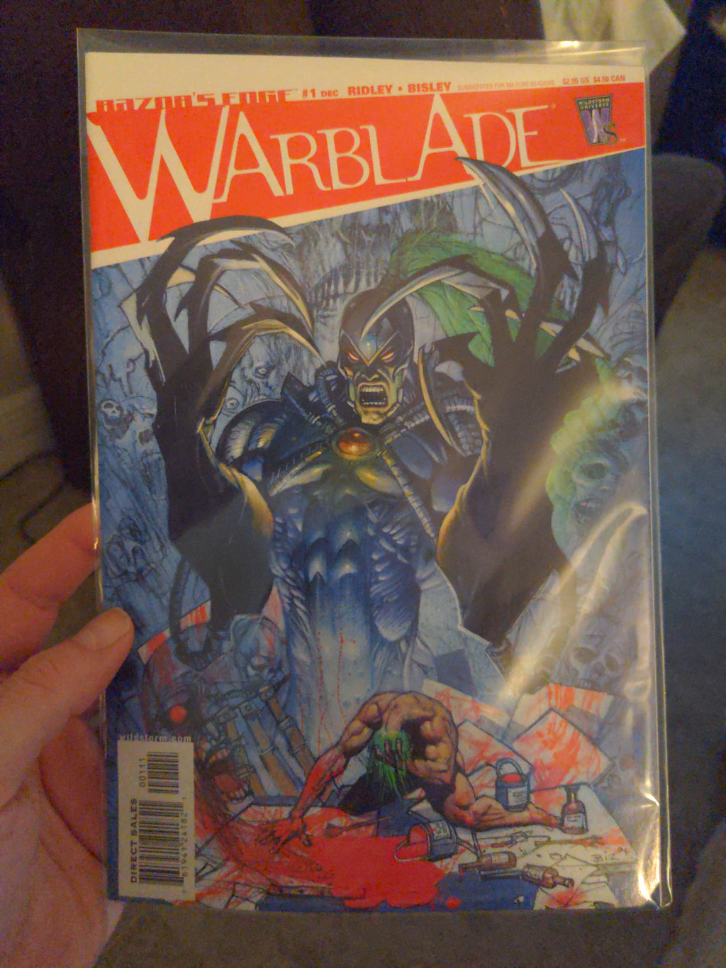 Warblade #1 Razor's Edge Comic NM (2004)
