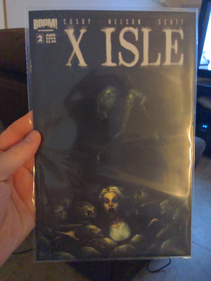 X Isle #2 Comicbook - Boom Comics - (2006)