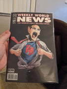 Weekly World News #1 Cover B - Bat Boy - IDW Comics (2010)