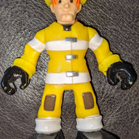 Imaginext Transformers Rescue Bots Griffin Rock Garage Kade Burns Figure