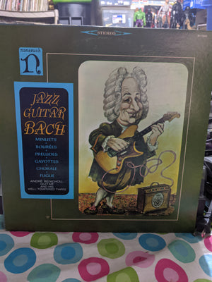 Andre Benichou & His Well Tempered Three ‎– Jazz Guitar Bach Nonesuch H-71069 Record