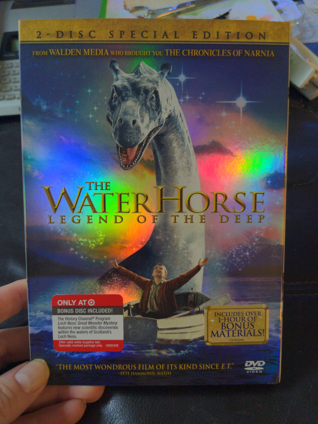 The Water Horse Legend of the Deep - 2 Disc DVD Special Edition with Slipcover