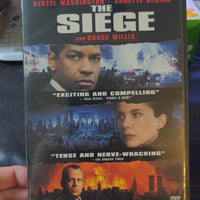 The Siege Enhanced Widescreen Edition DVD Denzel Washington Bruce Willis Annette Bening