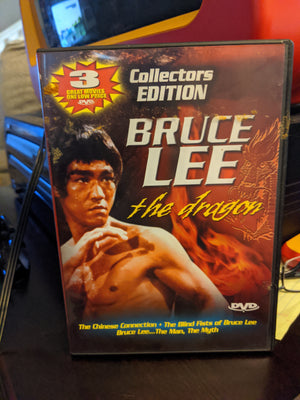 Bruce Lee The Dragon - 3 Movie DVD Collector's Edition Martial Arts Kung Fu