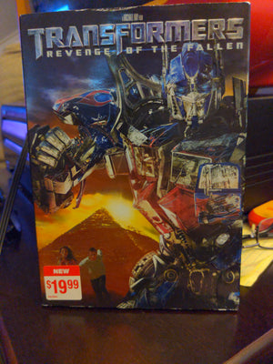 Transformers Revenge Of The Fallen DVD with Slipcover - Michael Bay