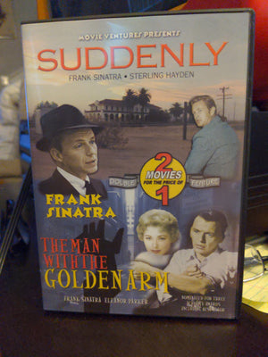 Frank Sinatra Double Feature DVD - Suddenly & The Man With The Golden Arm