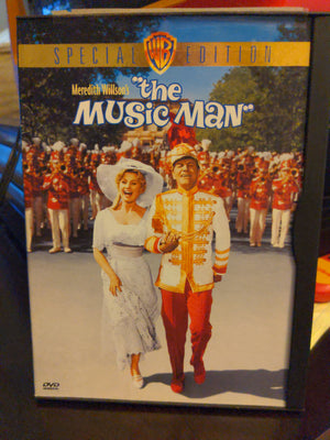 The Music Man 1961 (DVD, 1999) Robert Preston Shirley Jones Buddy Hackett