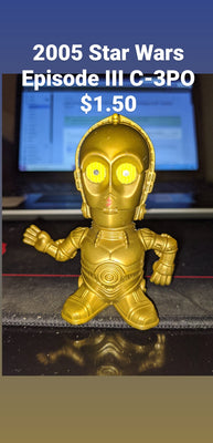 2005 Burger King Lucasfilm Star Wars Episode III C-3PO Figure