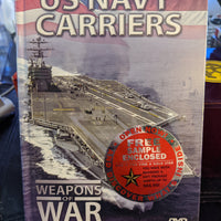 US Navy Carriers Military DVD SEALED NEW Set - Weapons Of War
