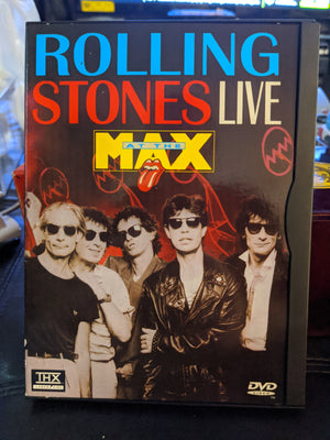 Rolling Stones At The Max Snapcase DVD Concert