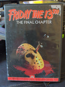 Friday The 13th Part IV The Final Chapter Paramount Horror DVD Jason Vorhees