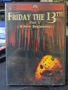 Friday The 13th Part V A New Beginning Paramount Horror DVD Jason Vorhees