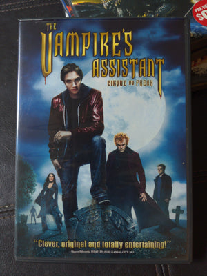 Cirque Du Freak: The Vampire's Assistant DVD - John C. Reilly Salma Hayek William Dafoe