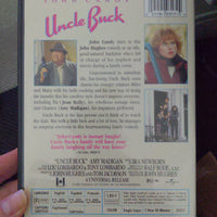 Uncle Buck John Hughes Film DVD - John Candy - Amy Madigan Widescreen