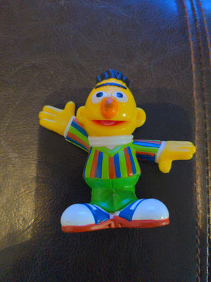 2010 Hasbro Sesame Street Workshop Burt Bert Toy / Cake Topper