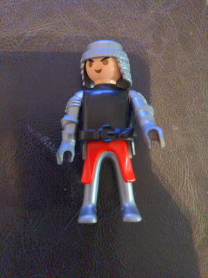 2004 Geobra Playmobil Castle Knight Toy Action Figure