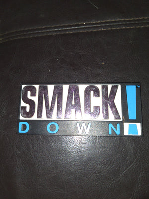1999 Jakks WWE WWF Smackdown Toy Plaque