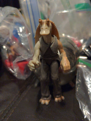 1998 Hasbro Star Wars Episode 1 - Jar Jar Binks Action Figure
