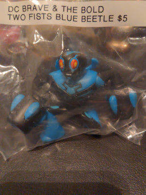DC Brave & The Bold Action Figure - Two Fists Blue Beetle