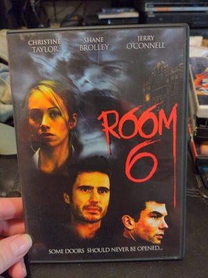 Room 6 Horror DVD - Christine Taylor Jerry O'Connell Shane Brolley w/Insert