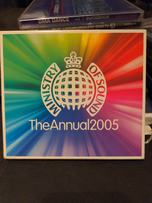 Ministry Of Sound The Annual 2005 Dance Music 2 CD Set with Slipcover (2004)