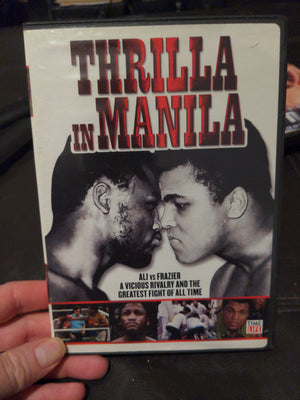 Thrilla In Manila Boxing Time Life DVD Ali vs. Frazier Feud