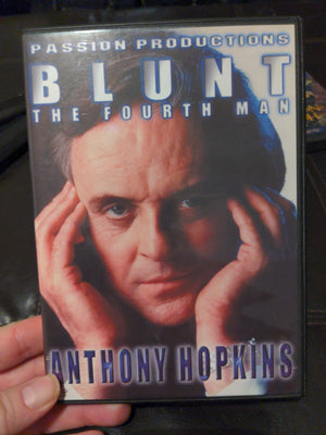 Blunt The Fourth Man Passion Productions DVD - Rare OOP Anthony Hopkins