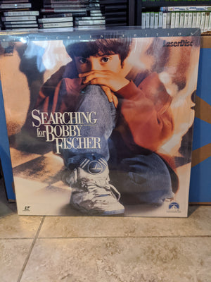 Searching For Bobby Fisher Widescreen Laserdisc Joe Mantegna, Laurence Fishburne, Ben Kingsley