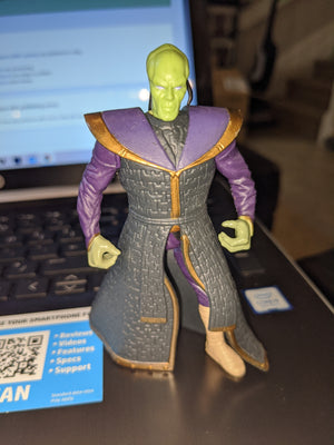 1996 Star Wars Shadows Of The Empire Prince Xizor Loose Action Figure