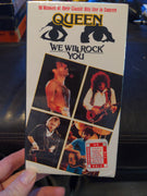 Queen We Will Rock You Sealed Concert VHS Tape 90 Minutes 1992