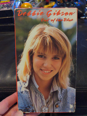 Debbie Gibson Out Of The Blue Rare Music VHS Tape 1988