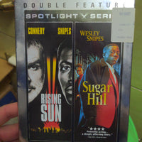 Rising Sun & Sugar Hill Double Feature SEALED NEW DVD Wesley Snipes Sean Connery