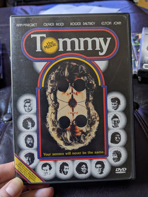 Tommy The Movie DVD - The Who w/Insert Booklet - Roger Daultrey - Elton John