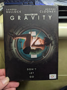 Gravity DVD with Slipcover - REGION 3 - Sandra Bullock - George Clooney Thailand