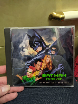 Batman Forever Original Music Movie Soundtrack CD - U2 - Seal - Offspring