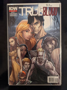 True Blood #1 Third Print IDW Comics HBO Series - J. Scott Campbell (2010)
